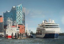 Für den 12. April 2019 plant Hapag-Lloyd die Taufe seines neuen Expeditionsschiffes «Hanseatic nature» in Hamburg. Foto: Christian Wyrwa/Hapag-Lloyd Cruises