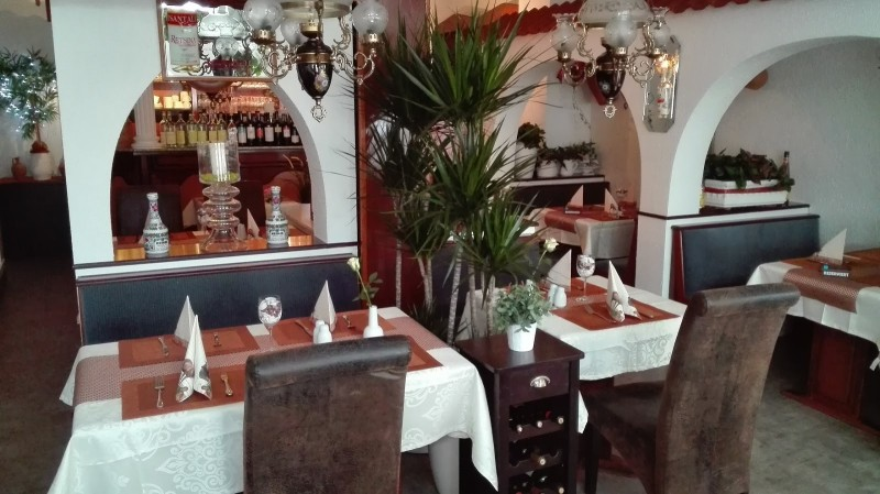 restaurant berg athos in kaiserslautern. Black Bedroom Furniture Sets. Home Design Ideas